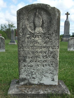 Mary Ann <i>Quinlin</i> Brownfield