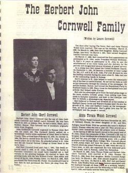 Anna Theresa <i>Welsh</i> Cornwell