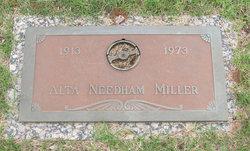 Alta M. <i>Needham</i> Miller