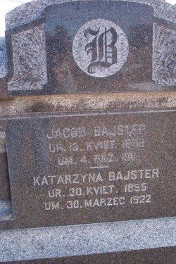 Katarzyna <i>Kuklinski</i> Bajster