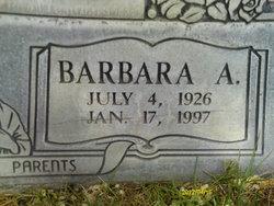 Barbara A Cline
