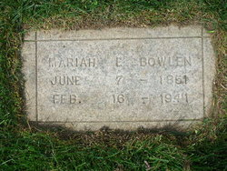 Mariah Ellen Bowlen