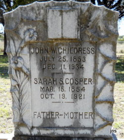 Sarah Susana <i>Cosper</i> Childress