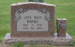 Latisha Jane <i>Bass</i> Banks