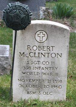 Sgt Robert McClinton