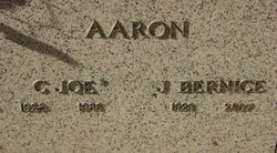 Julia Bernice <i>Moore</i> Aaron