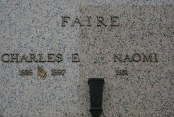 Charles E Faire