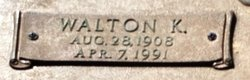Walton K. Barnes