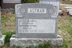 Milton Altman