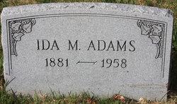 Ida Maud <i>Reinhart</i> Adams