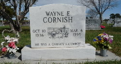 Wayne E Cornish