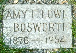 Amy F <i>Lowe</i> Bosworth