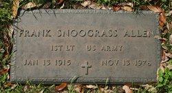 Frank Snodgrass Allen