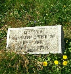 Hannah L <i>Franks</i> Ake
