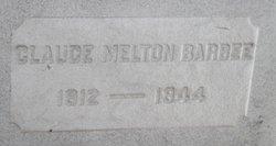 Claude Melton Barbee