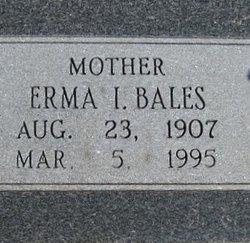 Erma I <i>Brown</i> Bales