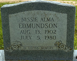 Nessie Alma <i>Farris</i> Edmundson
