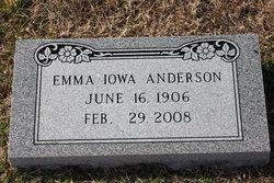 Iowa Emma <i>Boles</i> Anderson