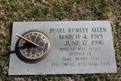 Pearl <i>Rumley</i> Allen