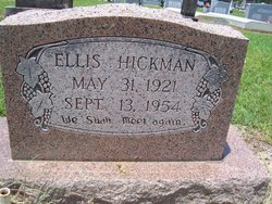 Ellis Jack Hickman