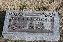 Kenneth Louis Anderson, Sr