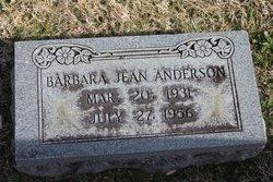 Barbara Jean <i>Shelton</i> Anderson
