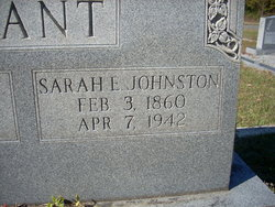 Sarah E. <i>Johnston</i> Avant