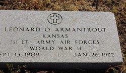 Dr Leonard O Armantrout