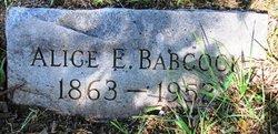Alice <i>Edmondson</i> Babcock