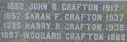 Sarah Jane <i>Alexander</i> Crafton