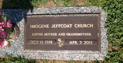 Imogene <i>Jeffcoat</i> Church