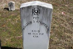 William S Anderson