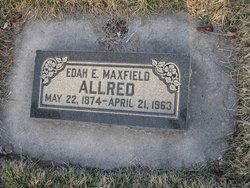Edah Eveline <i>Maxfield</i> Allred