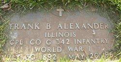 Frank B Alexander
