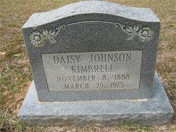 Daisy <i>Johnson</i> Kimbrell