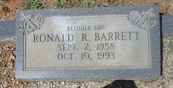 Ronald R Barrett