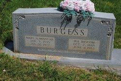 Mary Alice <i>Minnear</i> Burgess