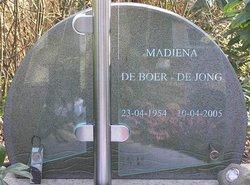 Madiena <i>De Jong</i> De Boer