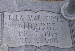 Ella Mae Bevel-Aldridge