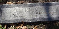Bertha <i>Staab</i> Hall