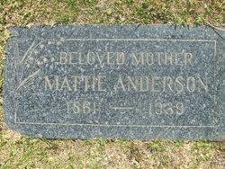 Mattie Anderson