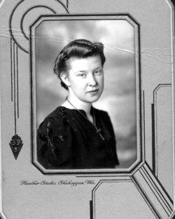 Maxine Margaret <i>Zastrow</i> Naze