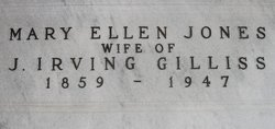Mary Ellen <i>Jones</i> Gilliss