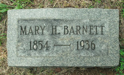 Mary <i>Haley</i> Barnett