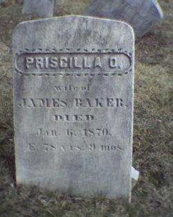 Priscilla D <i>Osgood</i> Baker