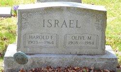 Olive M <i>Wesner</i> Israel