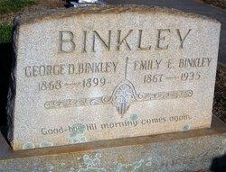 Emily Elizabeth <i>Carter</i> Binkley