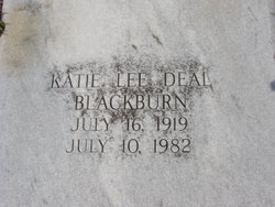 Katie Lee <i>Deal</i> Blackburn