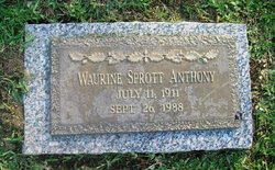 Waurine <i>Sprott</i> Anthony