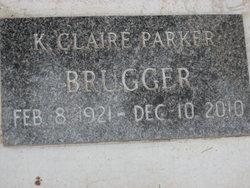 K Claire <i>Parker</i> Brugger